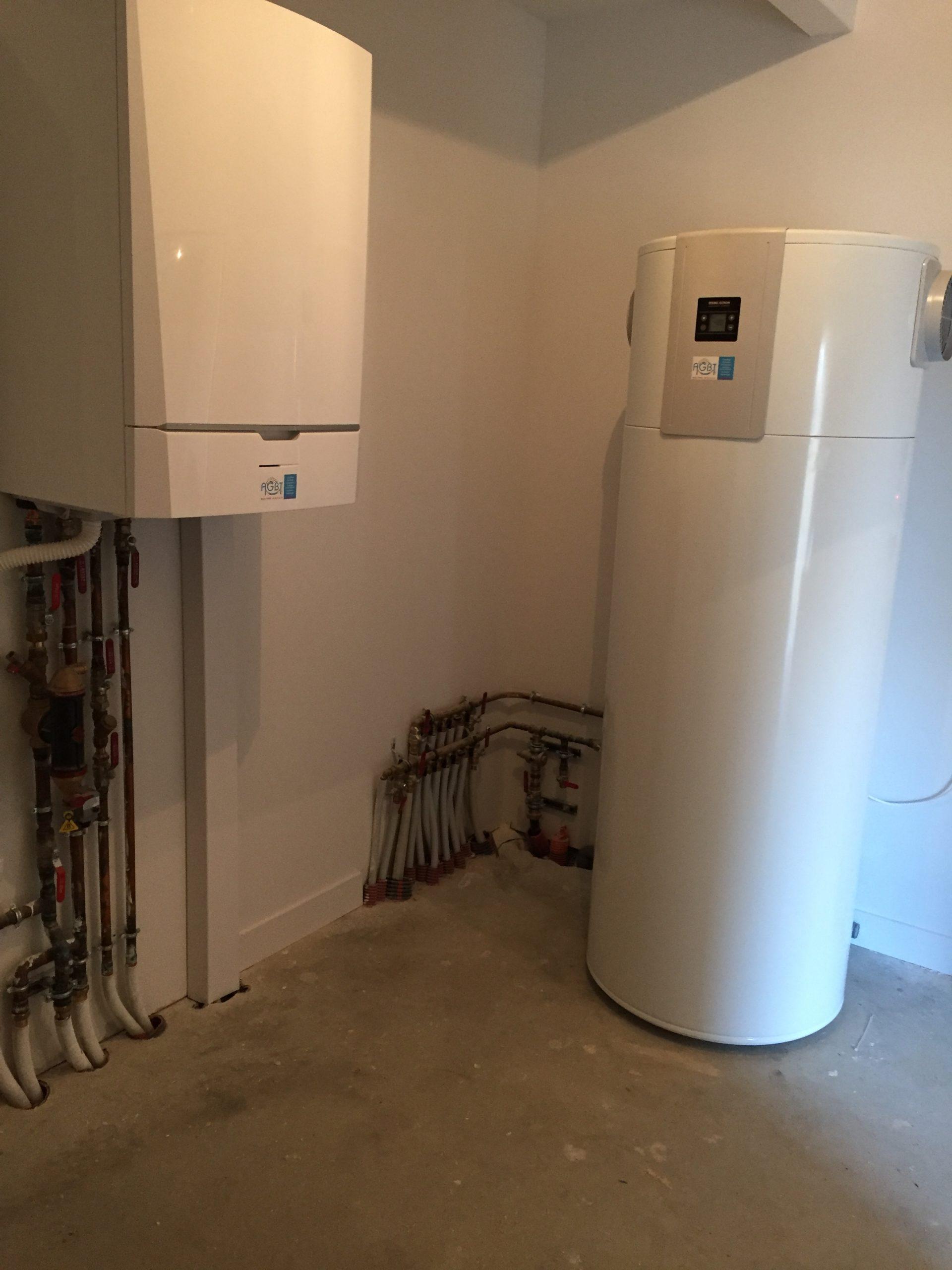 Pompe à chaleur air/eau et chauffe eau thermodynamique